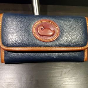 Dooney & Bourke all weather leather wallet